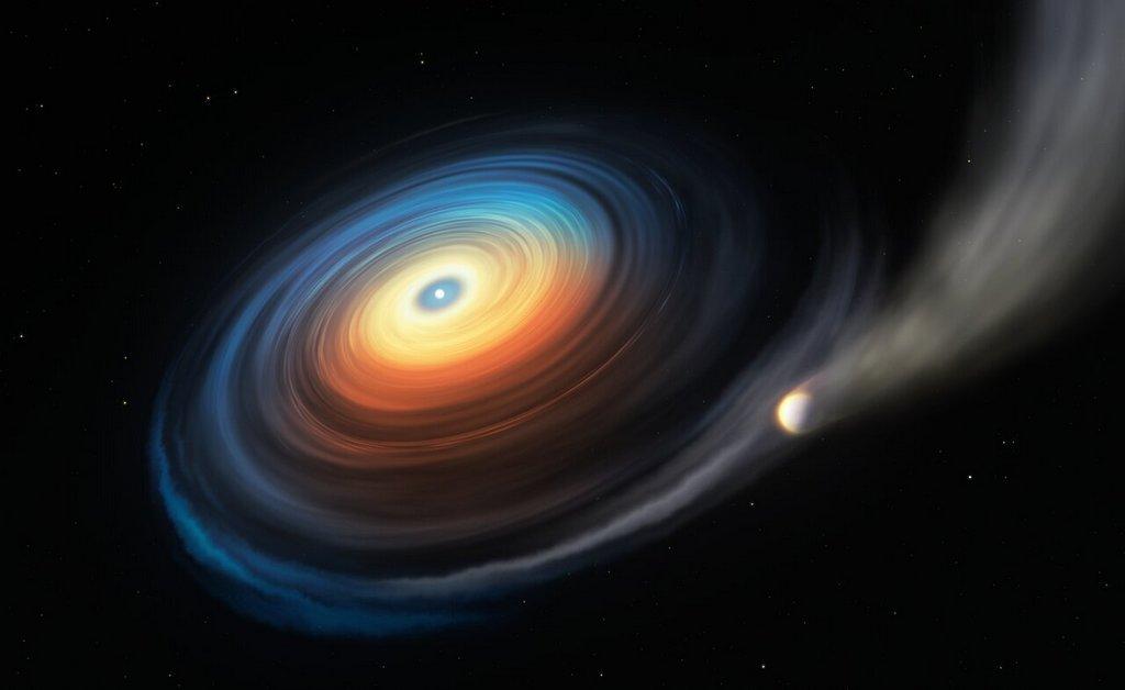 Reuzenplaneet bij witte dwerg gevonden