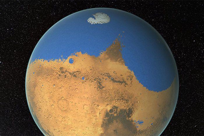 Oceaan op Mars