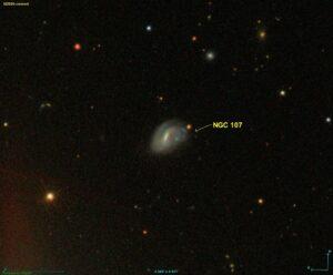 NGC 107 in Cetus - Walvis