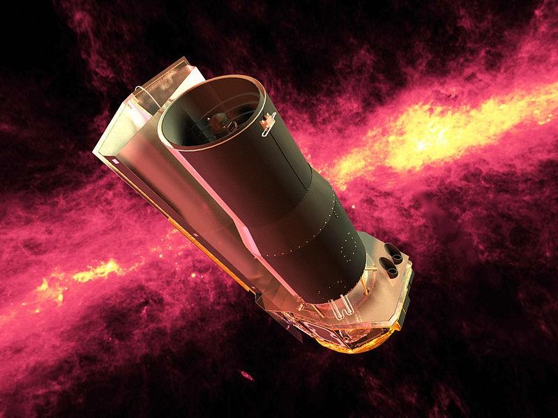 De Spitzer Space Telescope