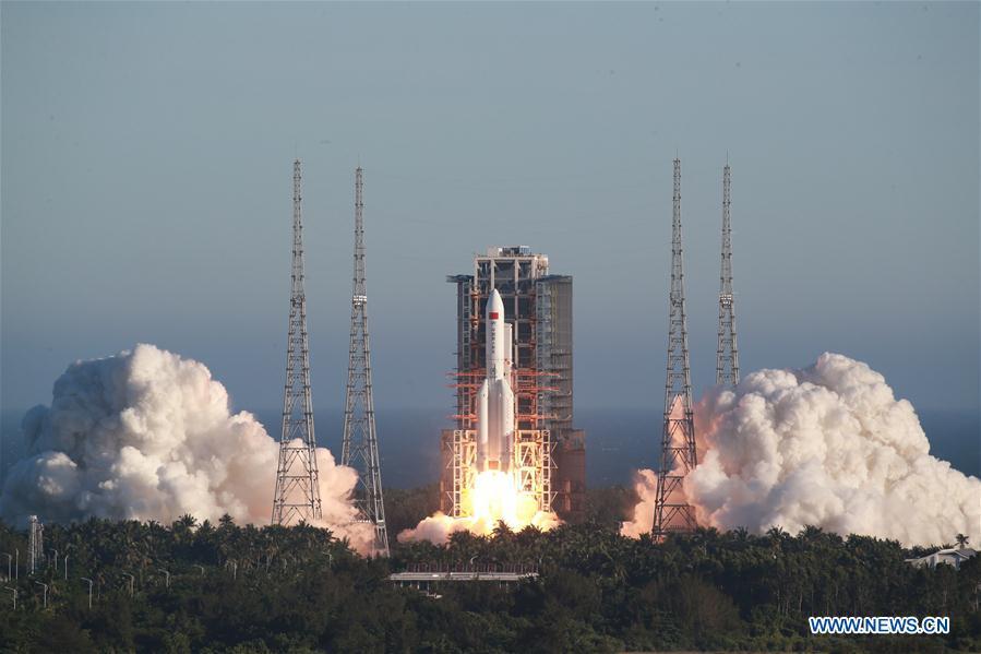 Lancering Chinese Lange Mars 5B raket