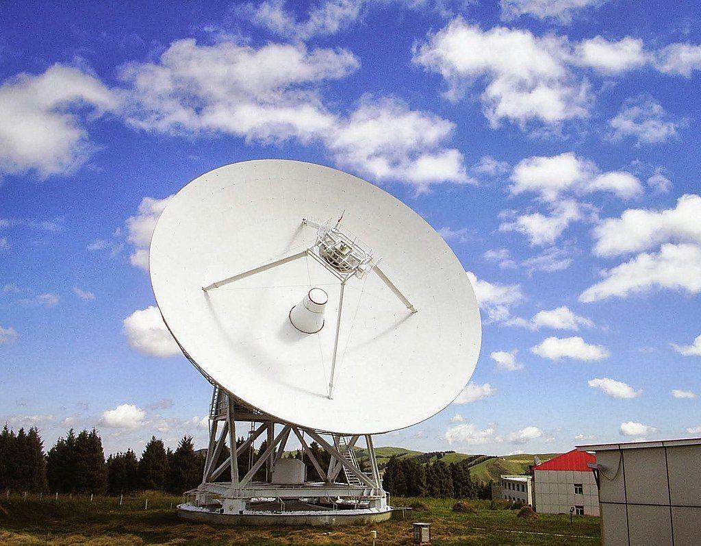 de 25-meter Nanshan Radio Telescoop