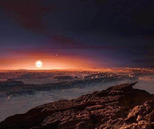 exoplaneet Proxima b
