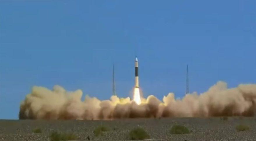 Lancering KZ-11 raket