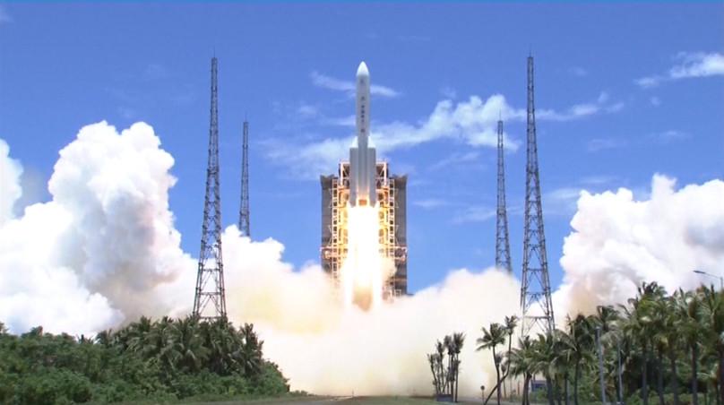 Lancering van de Tianwen-1