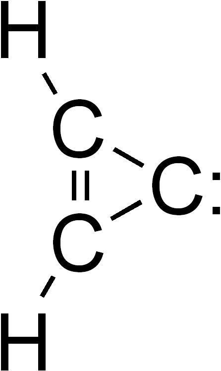 cyclopropenylideen in de atmosfeer van Titan