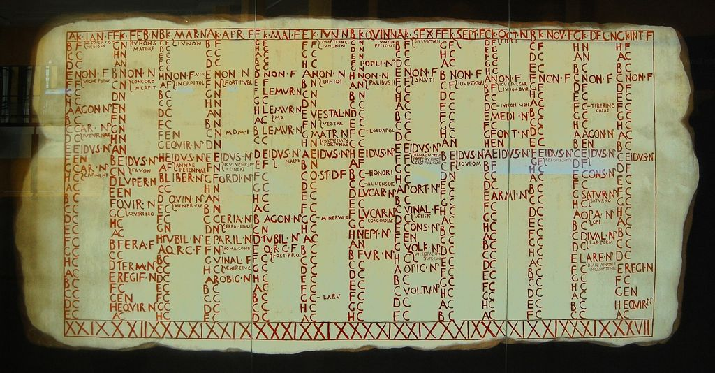 De Romeinse kalender