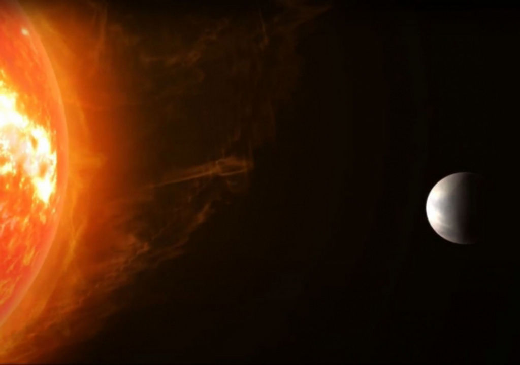 Artist impressie van Gliese 486b