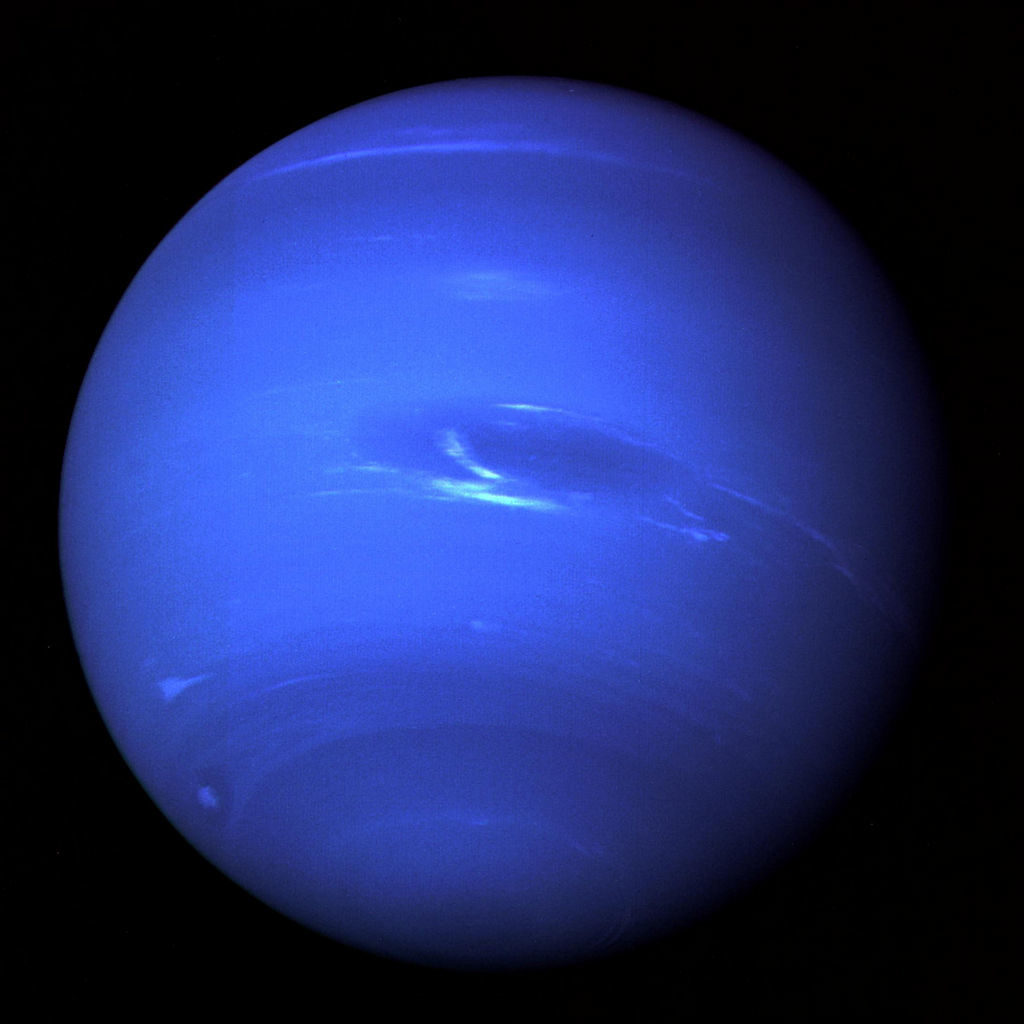 Blauwzuur in de atmosfeer van Neptunus