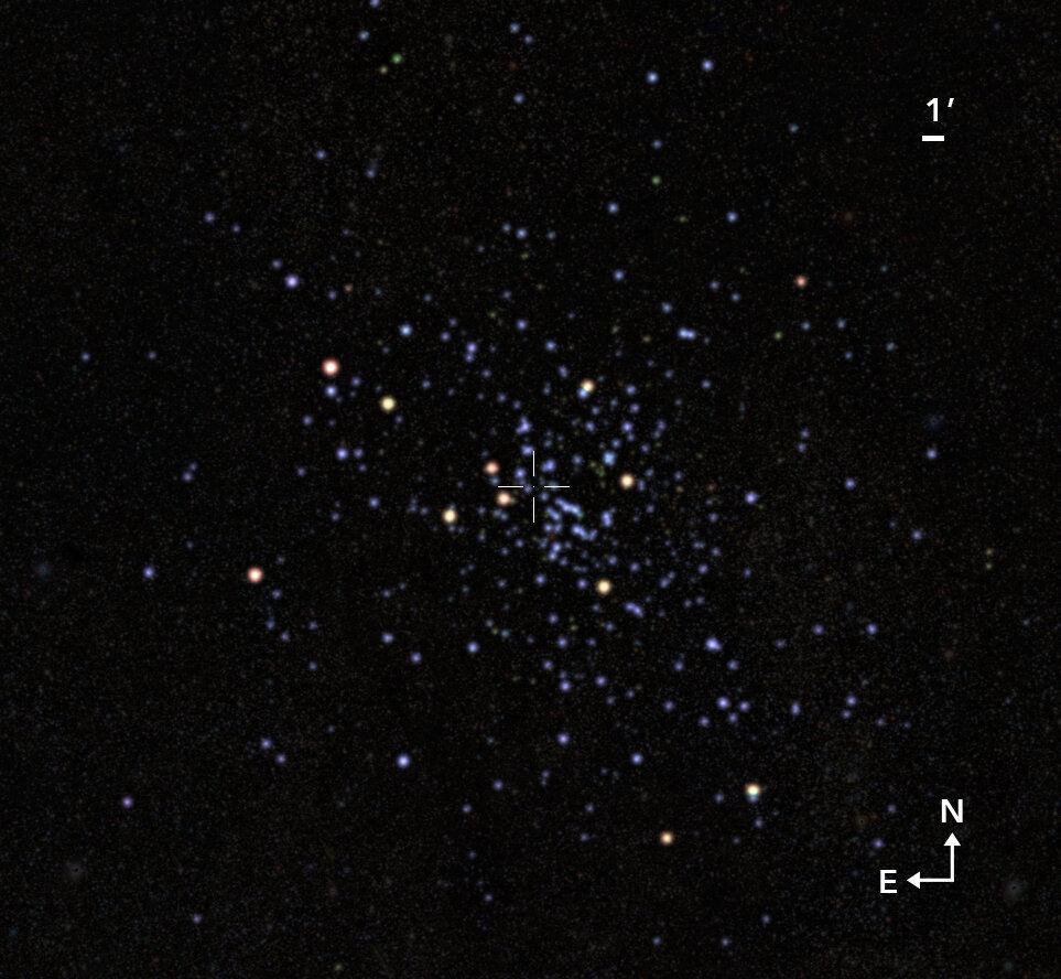 De open sterrenhoop Valparaiso 1