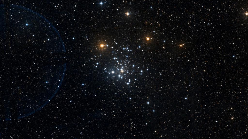 NGC 2516 in het sterenbeeld Carina - Kiel