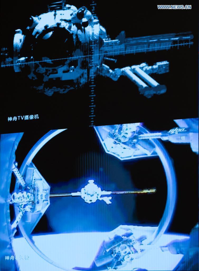 Koppeling Shenzhou 12 met Tianhe