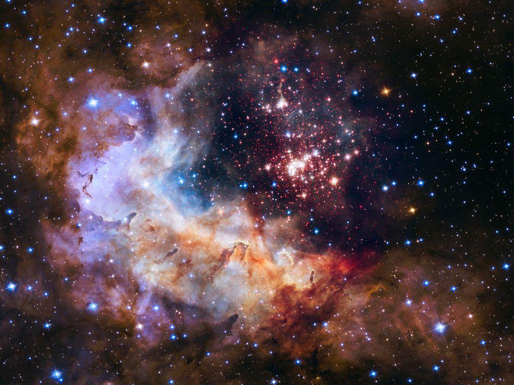 Deopen sterrenhoop Westerlund 2