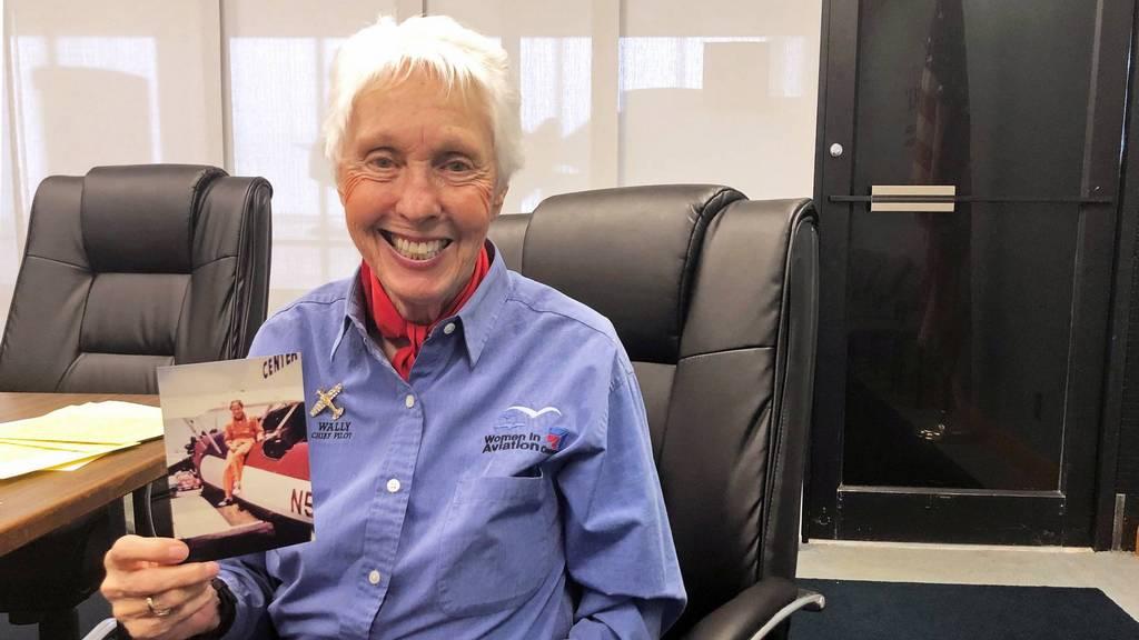 De 82-jarige Wally Funk