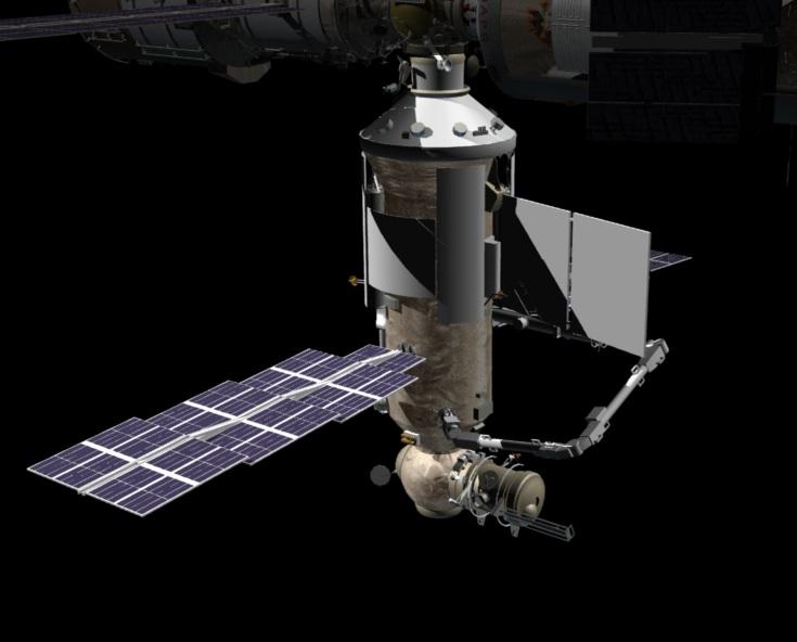 De Russische Nauka module