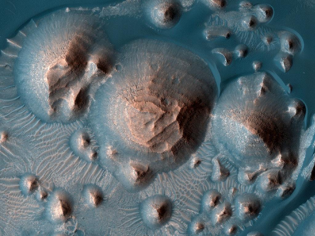 Arabia Terra op Mars