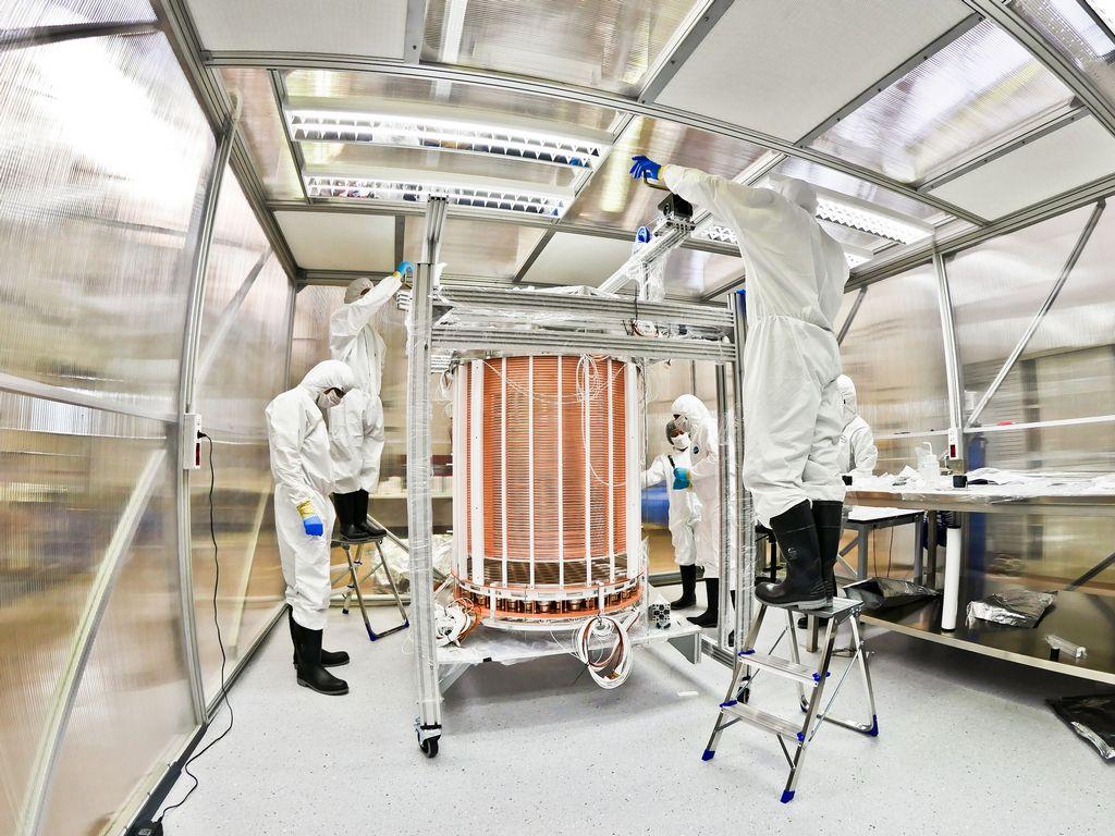 Xenon1T experiment