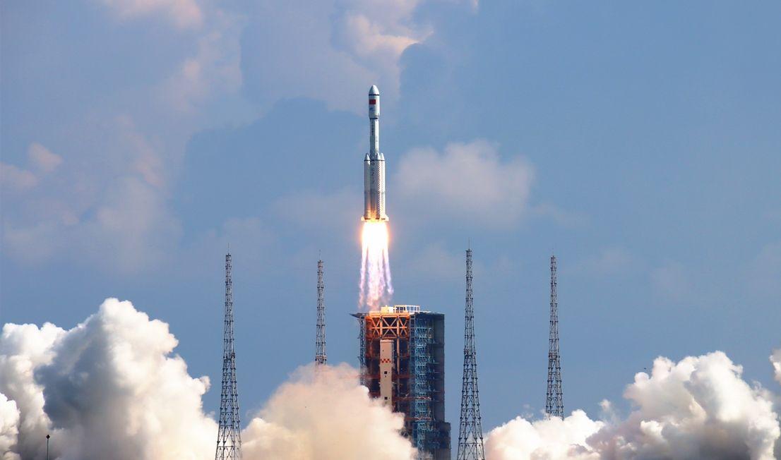 Lancering Lange Mars 7 en Tianzhou 3