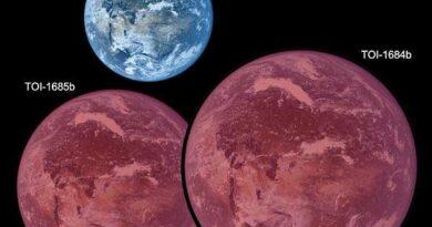 kale super-Aardes bij rode dwergen