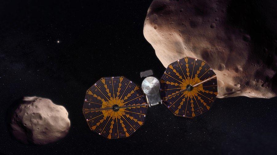 Lucy op bezoek bij asteroïde